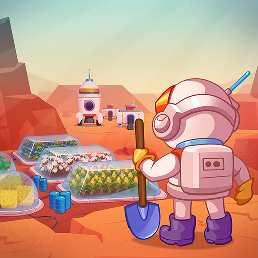 Idle Mars Colony: Clicker farmer tycoon  APKs (Mod) Download – for android