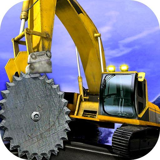 Up Hill Crane Cutter Excavator  APKs (Mod) Download – for android