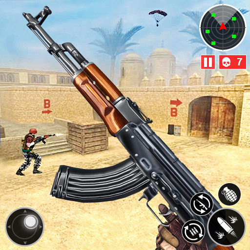 Army Shooting Games 2021-FPS Multiplayer Gun Games  APKs (Mod) Download – for android