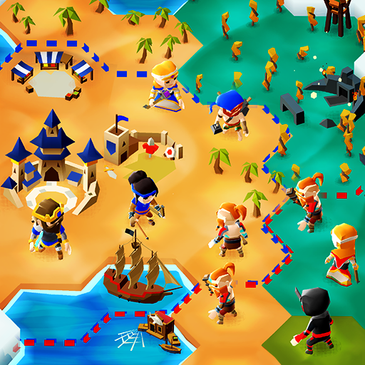 Hexapolis: Turn Based Civilization Battle 4X Game  APKs (Mod) Download – for android
