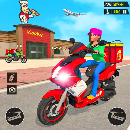 Pizza Delivery: Boy & Girl Bike Game  APKs (Mod) Download – for android