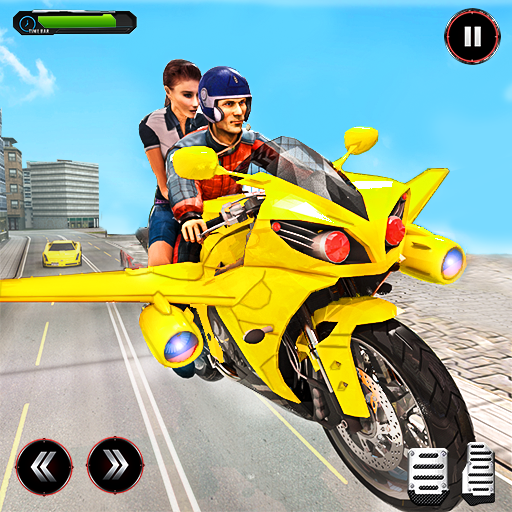Real Flying Bike Taxi Sim 2021  APKs (Mod) Download – for android