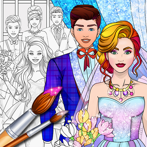 Wedding Coloring Dress Up – Games for Girls  1.4 APKs (Mod) Download – for android