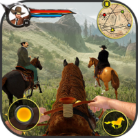 Cowboy Horse Riding Simulation : Gun of wild west  APKs (Mod) Download – for android