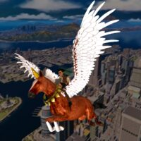 Flying Horse Taxi City Transport: Horse Games 2021  APKs (Mod) Download – for android