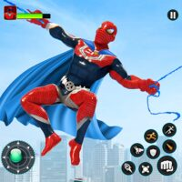 Flying Robot Hero – Crime City Rescue Robot Games  APKs (Mod) Download – for android