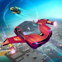 Futuristic Flying Car Racer  APKs (Mod) Download – for android