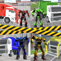 Garbage Truck Driving: Transformer Robot Cleaner  APKs (Mod) Download – for android