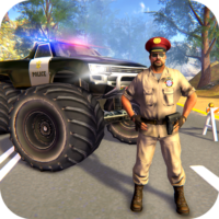 US Police Monster Truck Gangster Car Chase Games  APKs (Mod) Download – for android