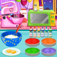 Cooking Rainbow Birthday Cake  APKs (Mod) Download – for android