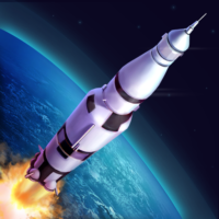 Rocket Simulator Flight 3D: Earth spaceship  APKs (Mod) Download – for android